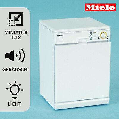 MIELE Spülmaschine Miniatur 1:12 für Puppenhaus Puppenstube Küche - 7814