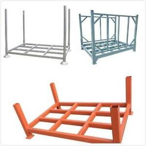 Steel Stackable Stillage Collapsible Forklift Cage Basket Bayswater Knox Area Preview