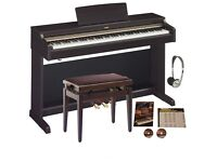 Yamaha Arius YDP162 Bundle with 4 years left Guarantee