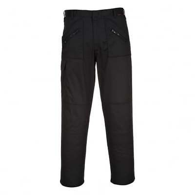 Portwest T887 Action Trousers Black W32 L34 TD085 AA 09