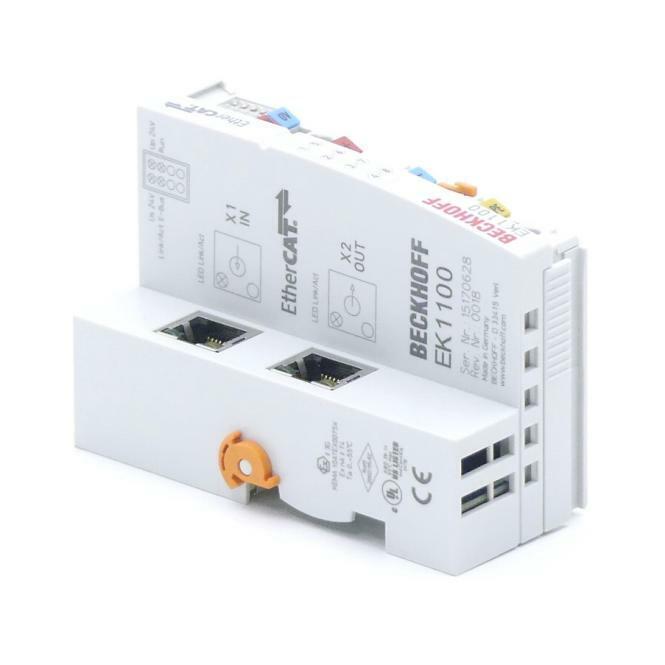 BECKHOFF EtherCAT-Buskoppler EK1100