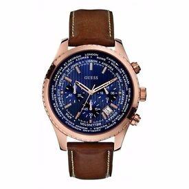 Half Price Brand new Guess Men's Quartz Watch, Model (W0500G1)
