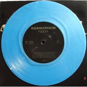Rammstein-Pussy-Numbered-Viagar-Blue-1-Side-7-Inch