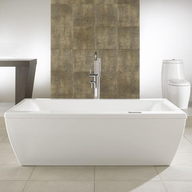 Neptune Saphyr Modern 72x38 Free Standing Bath Tub With Whirlpool System