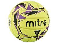 2 x Brand new Mitre Cyclone Indoor Footballs