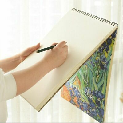 Sketch Book Vintage Graffiti Pattern Drawing Papers Painting Template Stationery