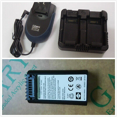 New Nivo 2m2c 3.7v 5000mah Battery With Dual Charger For Nikon Total Station