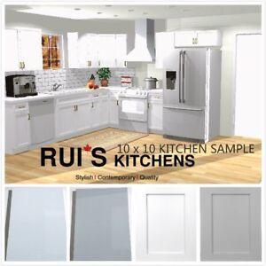 Acrylic high glossy/Solid Wood 10X10 kitchen from$2299