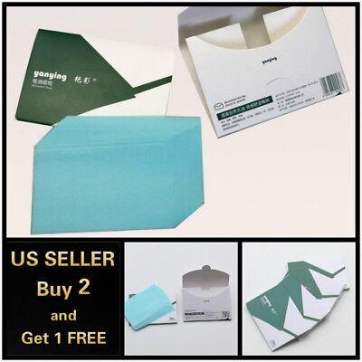 50Pcs Facial Oil Control Firm Absorbent Paper Sheet Oil-Absorbing Blotting Paper