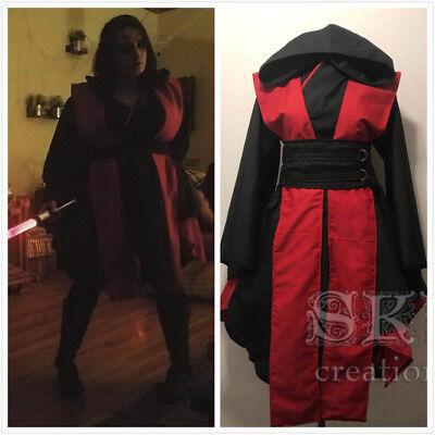 Star Wars: Episode III Revenge of the Sith cosplay costume Dress Set - Sith Cosplay