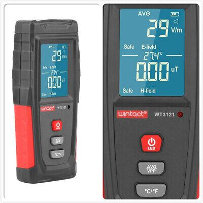 Electromagnetic Field Radiation Detector Tester Emf Meter Rechargeable Handheld