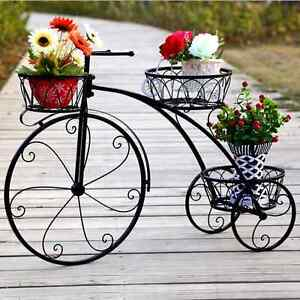Large garden home decor metal bike bicycle french for Bicycle decorations home