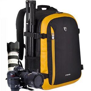 Delux Viaje Cámara réflex digital Mochila Funda para Nikon Canon...