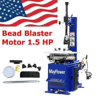(1.5 Horse Power Tire Changer Wheel Changers Machine Rim clamp 950 Bead Blaster)