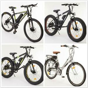 4 Models ELECTRIC BIKE -EBIKE -VÉLO ÉLECTRIQUE -Shimano Derailler -Samsung Battery