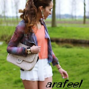 Classic-Quilt-Chain-Strap-Quilted-bag-Satchel-Tote-Shopper-HAND-Clutch-Arafeel