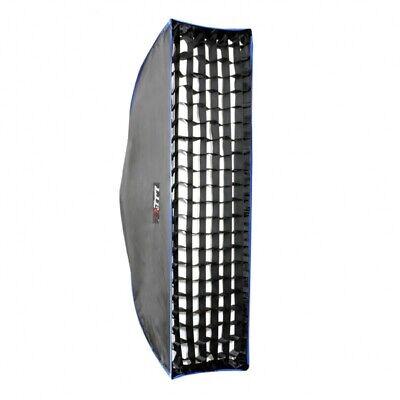 LIFE of PHOTO GRID Wabe Wabengitter für Easy Setup Striplight-Softbox 25x90 cm  Strip Light Softbox