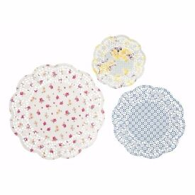 Doilies! Pretty table decoration for any celebration, wedding, party or Sunday tea!