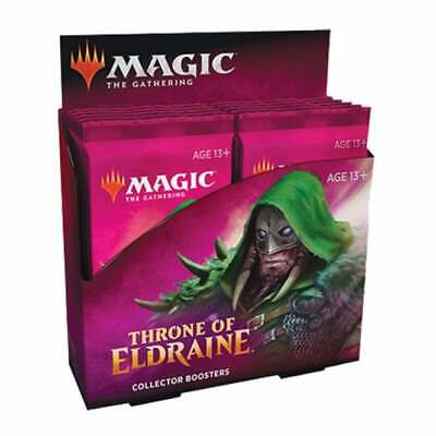 Throne Of Eldraine Collector Booster Box Magic The Gathering MTG *NEW & SEALED*