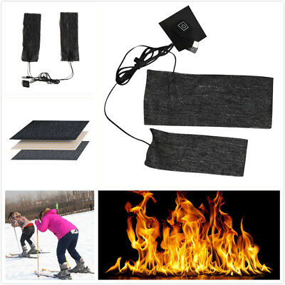 1 set of Electric Heating Pads For Cloth Vest Jacket & Cold Body Warming Outdoor