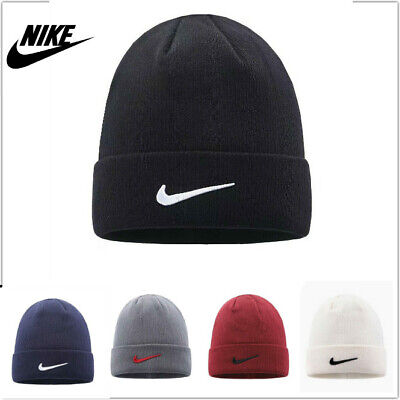 NEW Nike Knitted Urban long Peak Stretch Fit Beanie Hat  Winter Cap UK SELLER