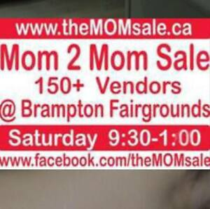 Mom 2 Mom Indoor Garage Sale - 140+ Vendors!!