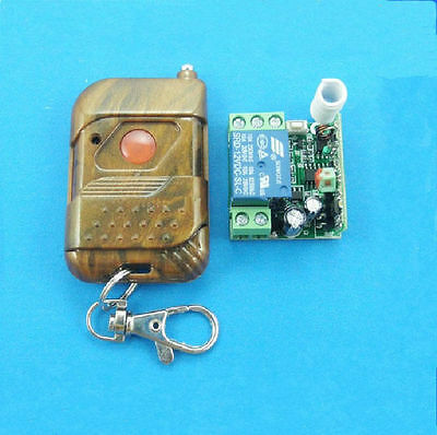 DC 12v 10A Relay Wireless RF Remote Control Switch Transmitter + Receiver