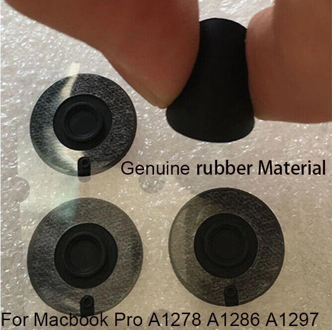 "Apple Macbook Pro, REAL Rubber Feet, 4 Pcs, 13"", Apple A1278"