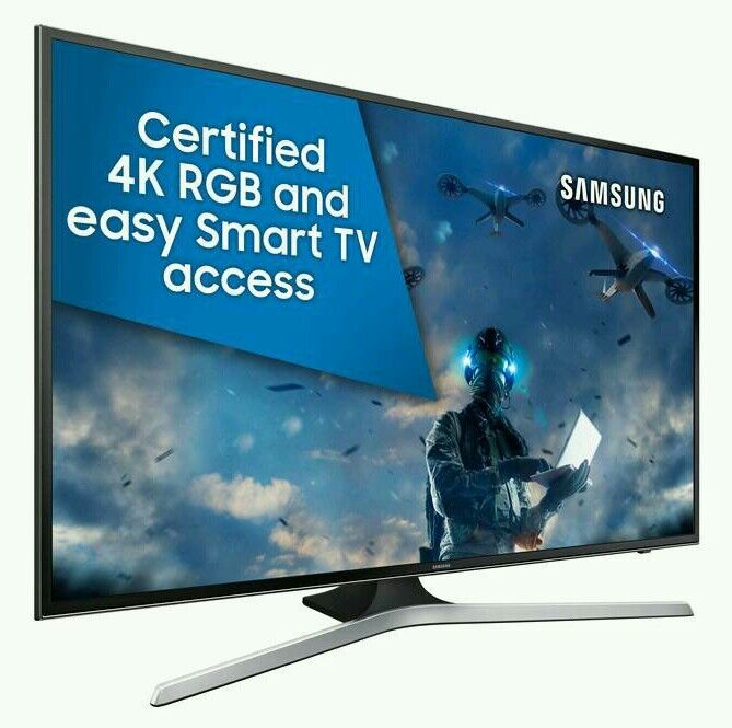 "Samsung 50"" LED 4K UHD HDR smart wifi tv built in HD freeview USB media player ."