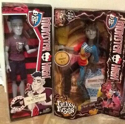 Monster High SLO MO & NEIGHTHAN ROT Male Dolls Lot Of 2 NEW for sale  Walnut