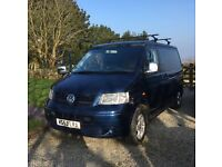 VW CAMPERVAN - TRANSPORTER 1.9TDI 85 - 4 BERTH INC. REIMO ROOF BED - SMEG GAS HOB + 3 WAY FRIDGE