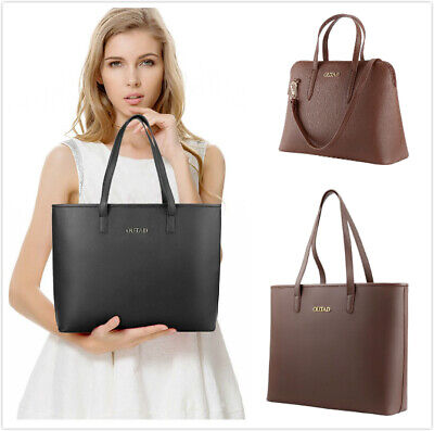 Women Pu Leather Top Handle Satchel Handbags Shoulder Bag Tote Purse Hobo Bags Top Hobo Purse
