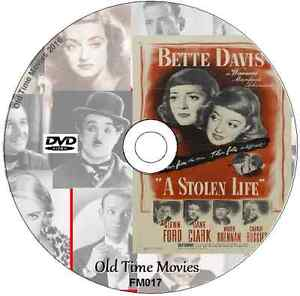 A Stolen Life - Bette Davis, Glenn Ford DVD Drama 1946 Film