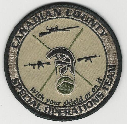 SWAT SRT Canadian County Sheriff State Oklahoma OK
