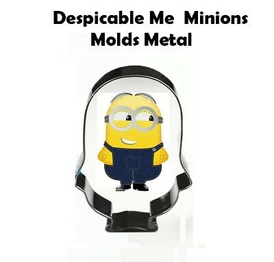 Despicable Me  Minions Molds Metal cookie cutter 1](Minion Cookie Cutter)
