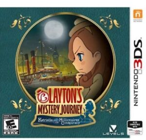Layton's Mystery Journey for Nintendo 3DS