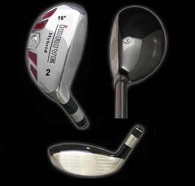 Hybrid 9 Iron - IDRIVE Hybrid Irons Golf Clubs (CHOOSE) 2 3 4 5 6 7 8 9 PW SW LW - FREE USA SHIP