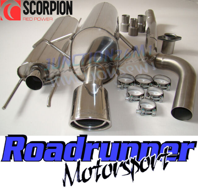Scorpion SVX042 Astra 1.9 Diesel MK5 Exhaust System Resonated Quieter No Cut Out