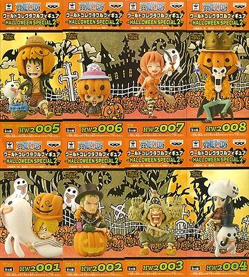 ONE PIECE WCF World Collectable Figure HALLOWEEN SPECIAL 2 Luffy Zoro Sanji - One Piece Halloween Special
