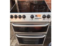 SILVER/BLACK CANNON 60CM ELECTRIC COOKER, 4 MONTHS WARRANTY, FREE LOCAL DELIVERY