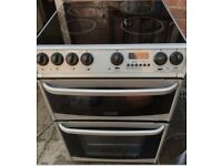 Cannon York Electric Cooker Ceramic Top 60cm - Free Delivery In Southampton Area