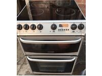 Cannon York 60cm silver electric cooker