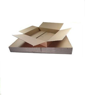 500 Cardboard Postage Boxes MAX Size Royal Mail SMALL ITEM 449x349x79mm