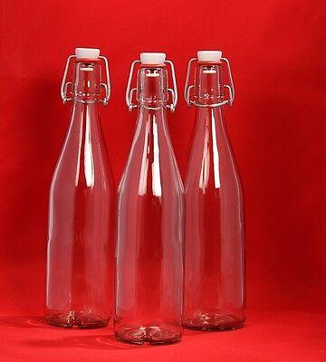 eere Bügelverschluss Bügelflasche Glas-Flasche mit Bügel (Bügelflaschen)