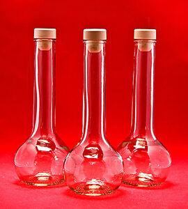 10 bouteilles en verre de 200 ml bouteilles d 39 alcool vides. Black Bedroom Furniture Sets. Home Design Ideas