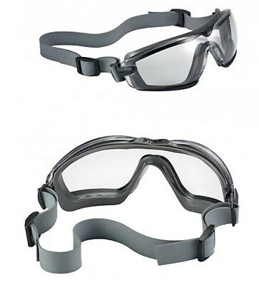 Bolle Cobra TPR Safety Glasses Goggles - Foam - Anti Mist / Scratch - COBTPRPSI ()
