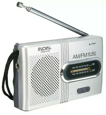 *BEST DEAL Mini AM/FM Radio Emergency Hiking Camping Bug Out SHTF Compact