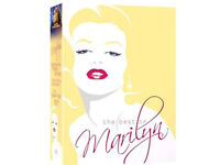 Various Hollywood superstar dvd boxsets (Marilyn, Elvis, Bette davis etc)