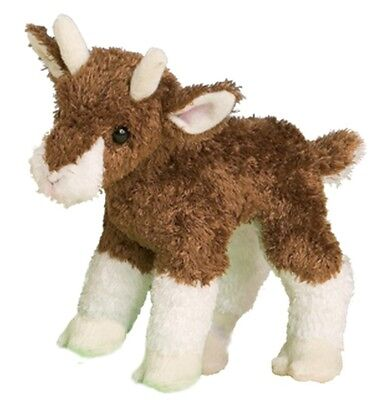 Douglas Toy 6'' Plush Buffy Baby Goat ~NEW~