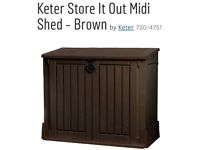 Ketter woodland store it out midi shed/storage